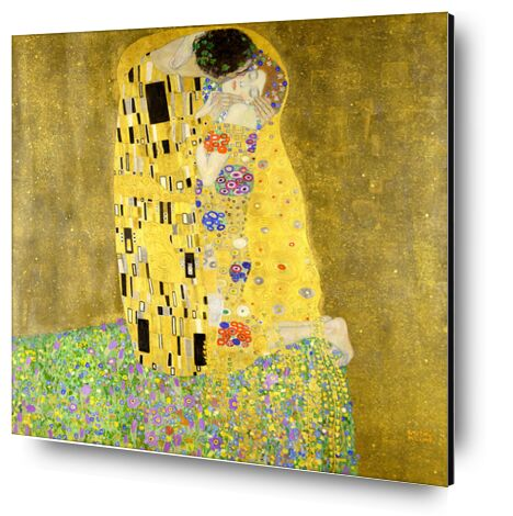 Le baiser - Gustav Klimt de AUX BEAUX-ARTS, Prodi Art, Photographie d'art, Contrecollage aluminium, Prodi Art
