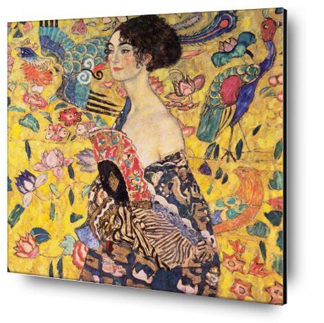 La dame à l'éventail - Gusta... de AUX BEAUX-ARTS, Prodi Art, Photographie d'art, Contrecollage aluminium, Prodi Art