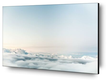 Over the clouds from Pierre Gaultier, Prodi Art, Art photography, Aluminum mounting, Prodi Art