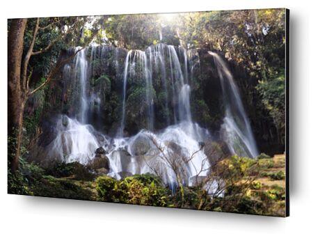 cascade de Los Nichos a Cuba de Cyril Jourdan, Prodi Art, Photographie d'art, Contrecollage aluminium, Prodi Art