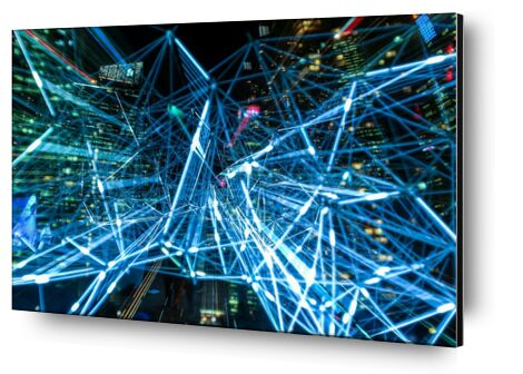 Abstract technology from Pierre Gaultier, VisionArt, Art photography, Aluminum mounting, Prodi Art