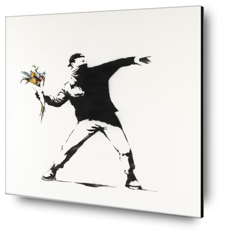 Love Is in the Air - BANKSY from AUX BEAUX-ARTS, Prodi Art, Art photography, Mounting on aluminium, Prodi Art