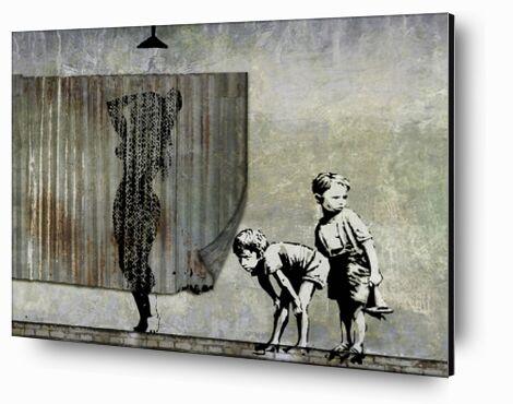 Shower Peepers - BANKSY from AUX BEAUX-ARTS, Prodi Art, Art photography, Mounting on aluminium, Prodi Art