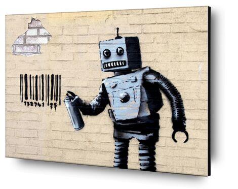 Robot - BANKSY from AUX BEAUX-ARTS, Prodi Art, Art photography, Mounting on aluminium, Prodi Art