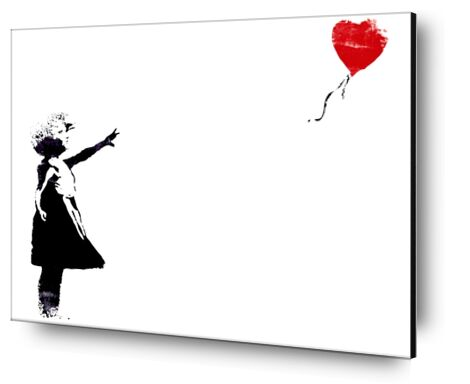 Heart Balloon - BANKSY from AUX BEAUX-ARTS, Prodi Art, Art photography, Mounting on aluminium, Prodi Art