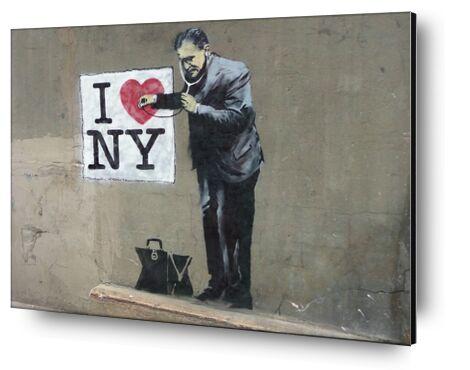 I Love NY - BANKSY from AUX BEAUX-ARTS, Prodi Art, Art photography, Mounting on aluminium, Prodi Art