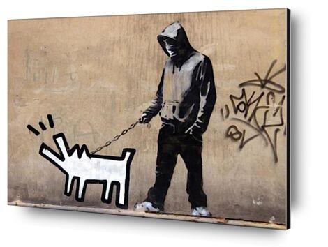 Dog - BANKSY from AUX BEAUX-ARTS, Prodi Art, Art photography, Mounting on aluminium, Prodi Art