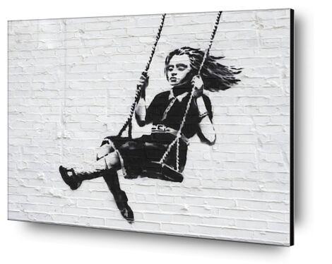 Girl on a Swing - BANKSY from AUX BEAUX-ARTS, Prodi Art, Art photography, Mounting on aluminium, Prodi Art