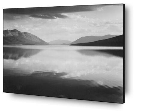 Evening McDonald Lake Glacier ... from AUX BEAUX-ARTS, Prodi Art, Art photography, Mounting on aluminium, Prodi Art