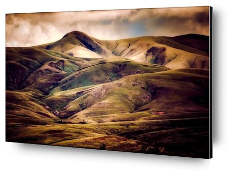 Hilly landscape from Pierre Gaultier, Prodi Art, Art photography, Aluminum mounting, Prodi Art