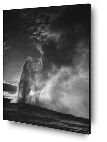 Old Faithful Geyser Yellowston... from AUX BEAUX-ARTS, Prodi Art, Art photography, Mounting on aluminium, Prodi Art