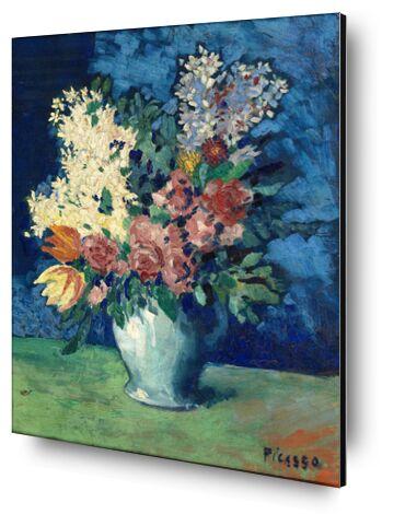 Flowers 1901 - Picasso from AUX BEAUX-ARTS, Prodi Art, Art photography, Mounting on aluminium, Prodi Art