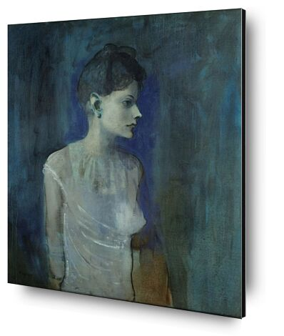 Girl in a Chemise - Picasso from AUX BEAUX-ARTS, Prodi Art, Art photography, Mounting on aluminium, Prodi Art