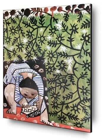 Playing Child - Picasso from AUX BEAUX-ARTS, Prodi Art, Art photography, Mounting on aluminium, Prodi Art