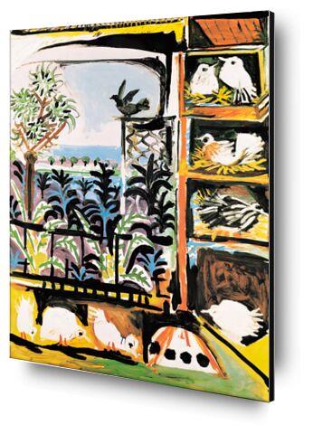 The Pigeons 1957 - Picasso from AUX BEAUX-ARTS, Prodi Art, Art photography, Mounting on aluminium, Prodi Art