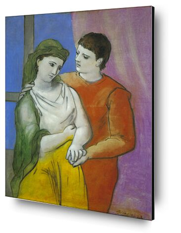 The Lovers - Picasso from AUX BEAUX-ARTS, Prodi Art, Art photography, Mounting on aluminium, Prodi Art