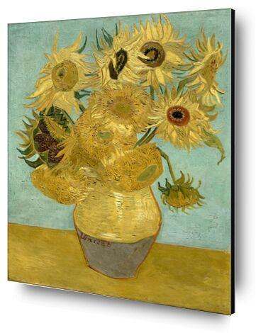 Sunflowers - Van Gogh from AUX BEAUX-ARTS, Prodi Art, Art photography, Mounting on aluminium, Prodi Art
