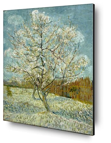The Pink Peach Tree - Van Gogh from AUX BEAUX-ARTS, Prodi Art, Art photography, Mounting on aluminium, Prodi Art