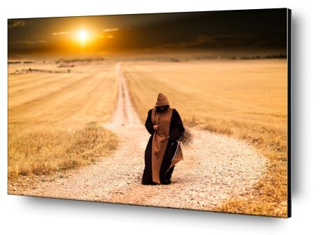 The walk of the monk from Pierre Gaultier, Prodi Art, Art photography, Aluminum mounting, Prodi Art