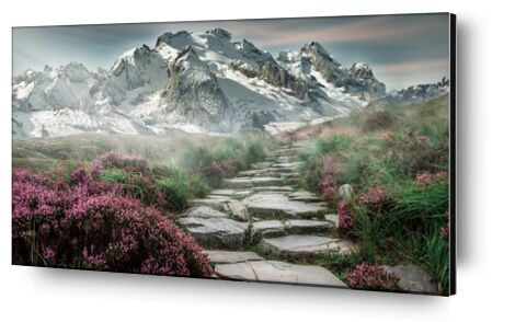 Mountain path from Pierre Gaultier, Prodi Art, Art photography, Aluminum mounting, Prodi Art