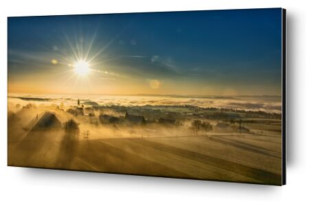 Winter Fog from Pierre Gaultier, Prodi Art, Art photography, Aluminum mounting, Prodi Art