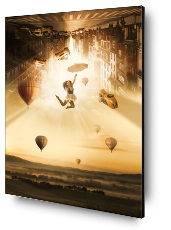 New York in the air from Pierre Gaultier, VisionArt, Art photography, Aluminum mounting, Prodi Art