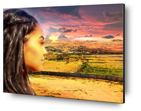 Sun of Africa from Adam da Silva, Prodi Art, Art photography, Aluminum mounting, Prodi Art