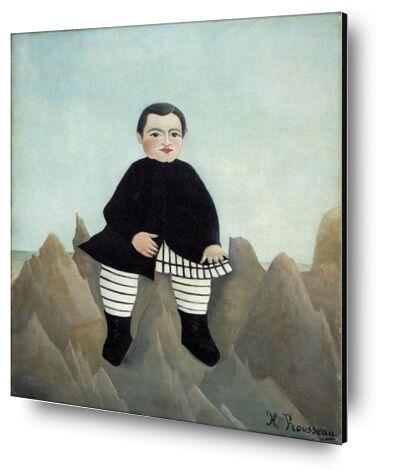 Boy on the Rocks from Aux Beaux-Arts, Prodi Art, Art photography, Aluminum mounting, Prodi Art