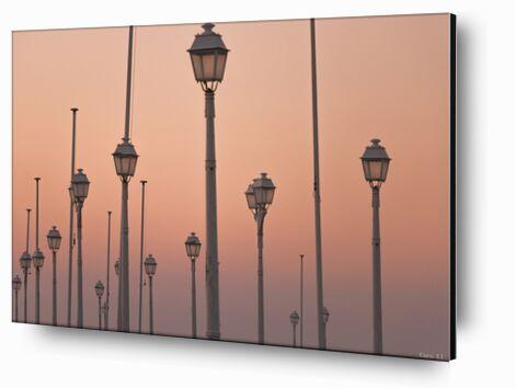 Lights de Caro Li, Prodi Art, Photographie d'art, Contrecollage aluminium, Prodi Art