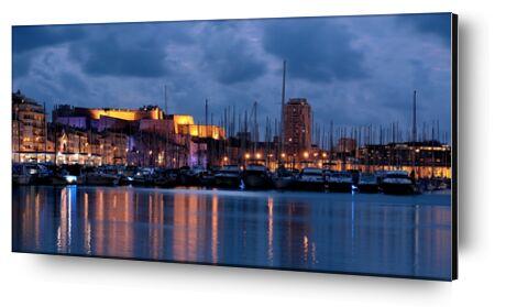 Marseille de Frédéric Traversari, Prodi Art, Photographie d'art, Contrecollage aluminium, Prodi Art