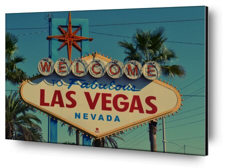 Las Vegas from Aliss ART, Prodi Art, Art photography, Mounting on aluminium, Prodi Art