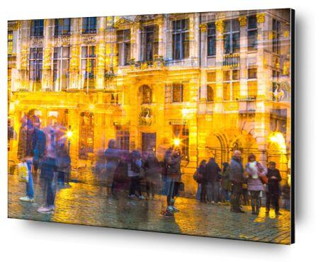 Le Tourisme mouvementé de Pierre Rousseau, Prodi Art, Photographie d'art, Contrecollage aluminium, Prodi Art