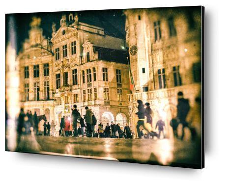 Bruxelles de Pierre Rousseau, Prodi Art, Photographie d'art, Contrecollage aluminium, Prodi Art