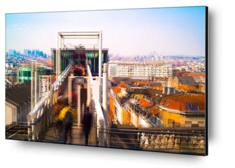 L'Ascenseur de Pierre Rousseau, Prodi Art, Photographie d'art, Contrecollage aluminium, Prodi Art