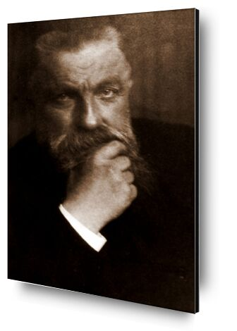 Auguste Rodin - Edward Steichen 1902 from Aux Beaux-Arts, Prodi Art, Art photography, Aluminum mounting, Prodi Art