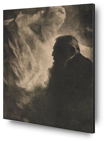 Portrait de Rodin. Photogravur... de AUX BEAUX-ARTS, Prodi Art, Photographie d'art, Contrecollage aluminium, Prodi Art