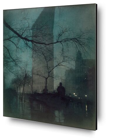 Flatiron Building, New York - Edward Steichen 1904 de Aux Beaux-Arts, Prodi Art, Photographie d'art, Contrecollage aluminium, Prodi Art