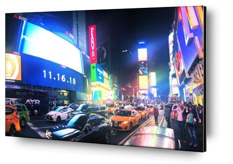Times Square de Cyril Jourdan, Prodi Art, Photographie d'art, Contrecollage aluminium, Prodi Art