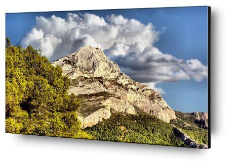 Montagne de la Sainte Victoire de Frédéric Traversari, Prodi Art, Photographie d'art, Contrecollage aluminium, Prodi Art