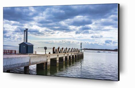 Embarcadère de Caro Li, Prodi Art, Photographie d'art, Contrecollage aluminium, Prodi Art
