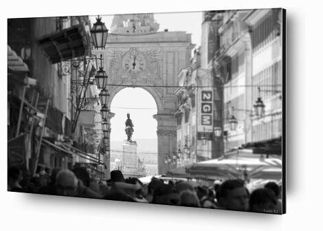 Lisbonne de Caro Li, Prodi Art, Photographie d'art, Contrecollage aluminium, Prodi Art