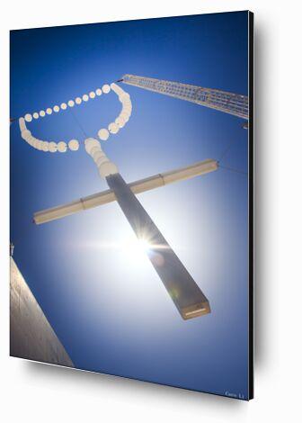 la croix de Caro Li, Prodi Art, Photographie d'art, Contrecollage aluminium, Prodi Art