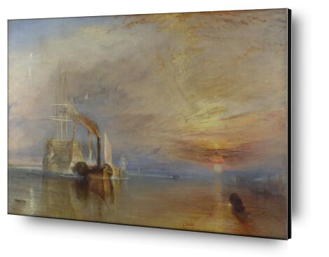 The Fighting Temeraire - WILLIAM TURNER 1883 from Aux Beaux-Arts, Prodi Art, Art photography, Aluminum mounting, Prodi Art