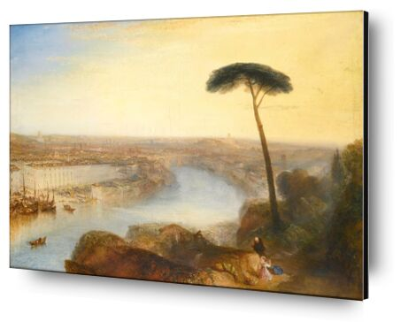 Rome, From Mount Aventine - WILLIAM TURNER 1835 from Aux Beaux-Arts, Prodi Art, Art photography, Aluminum mounting, Prodi Art