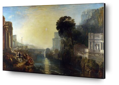 Dido Building Carthage - WILLIAM TURNER 1815 from Aux Beaux-Arts, Prodi Art, Art photography, Aluminum mounting, Prodi Art