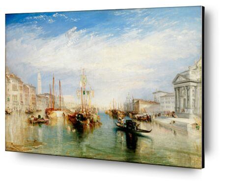 Venice, from the Porch of Madonna della Salute - WILLIAM TURNER 1835 from Aux Beaux-Arts, Prodi Art, Art photography, Aluminum mounting, Prodi Art