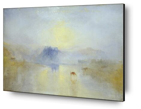 Norham Castle, Sunrise - WILLIAM TURNER 1845 from Aux Beaux-Arts, Prodi Art, Art photography, Aluminum mounting, Prodi Art