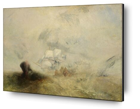 Whalers - WILLIAM TURNER 1840 from Aux Beaux-Arts, Prodi Art, Art photography, Aluminum mounting, Prodi Art