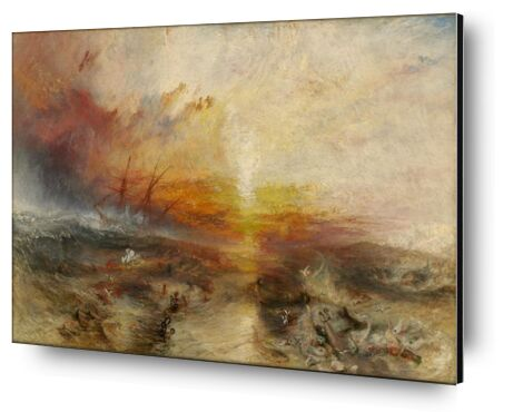 The slave ship - WILLIAM TURNER 1840 from Aux Beaux-Arts, Prodi Art, Art photography, Aluminum mounting, Prodi Art