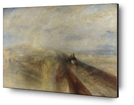 Rain, Steam and Speed – The Great Western Railway - WILLIAM TURNER 1844 from Aux Beaux-Arts, Prodi Art, Art photography, Aluminum mounting, Prodi Art